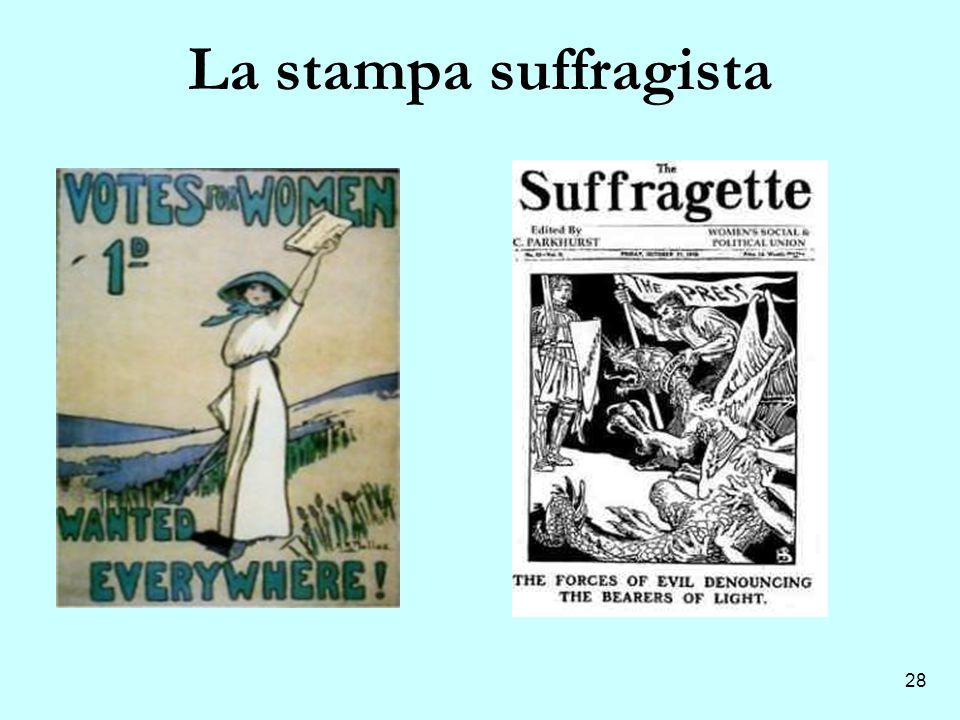 La stampa suffragista