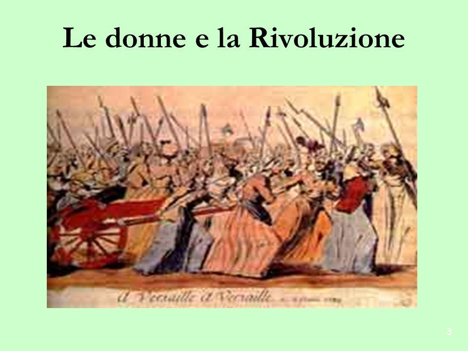 Le donne e la Rivoluzione