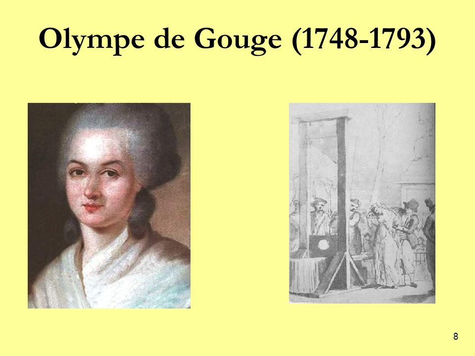 Olympe de Gouge (1748-1793)