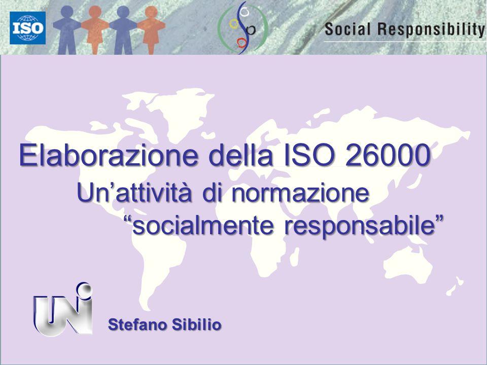 Elaborazione della ISO 26000
