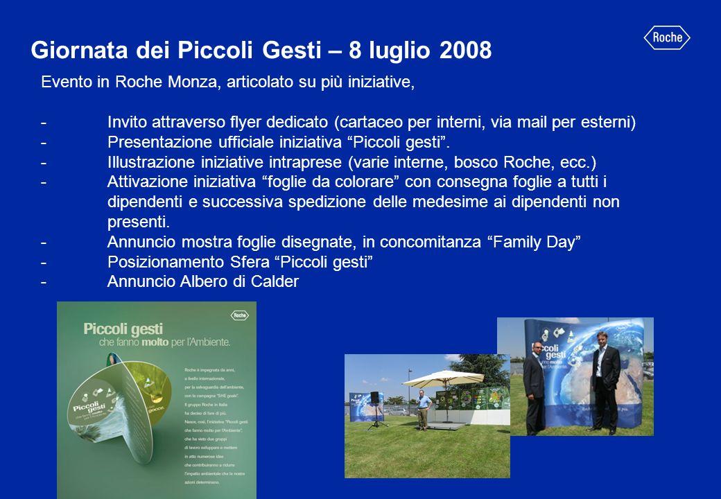 Giornata dei Piccoli Gesti – 8 luglio 2008