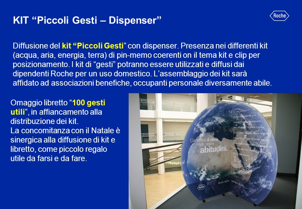 KIT Piccoli Gesti – Dispenser