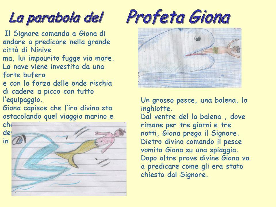 Profeta Giona La parabola del