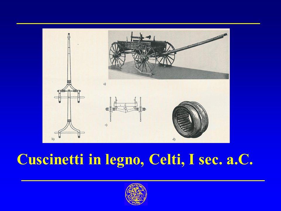 Cuscinetti in legno, Celti, I sec. a.C.