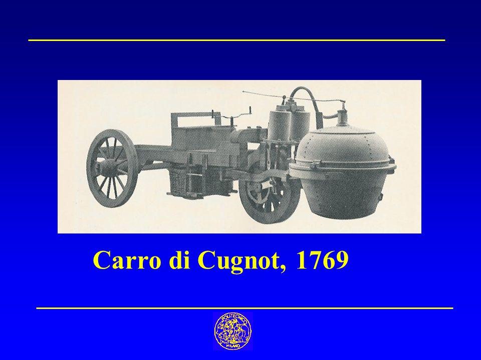 Carro di Cugnot, 1769