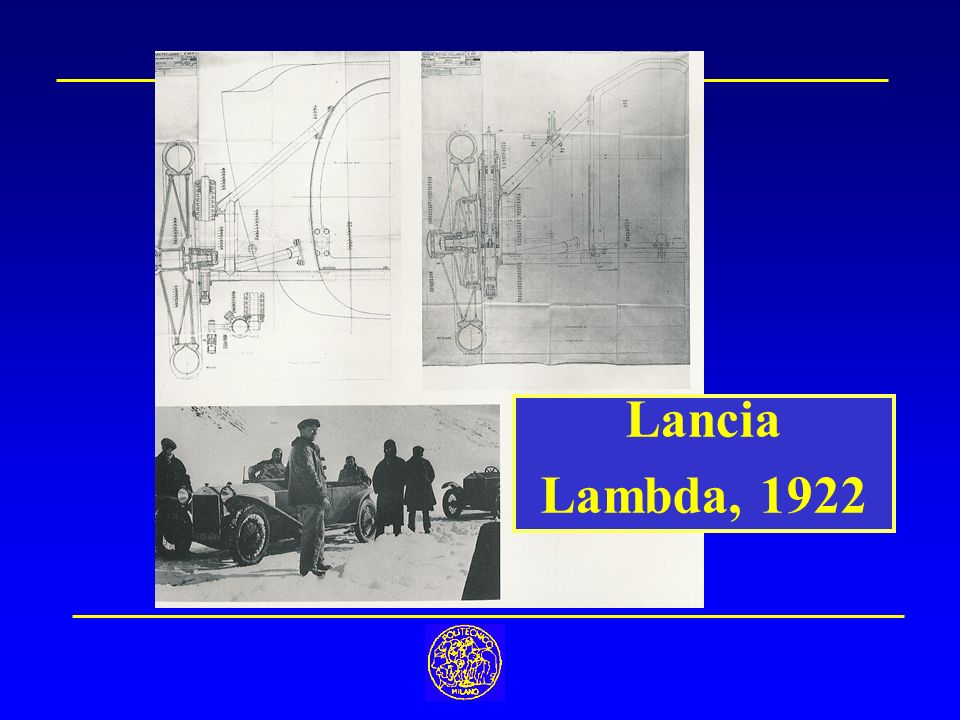 Lancia Lambda, 1922