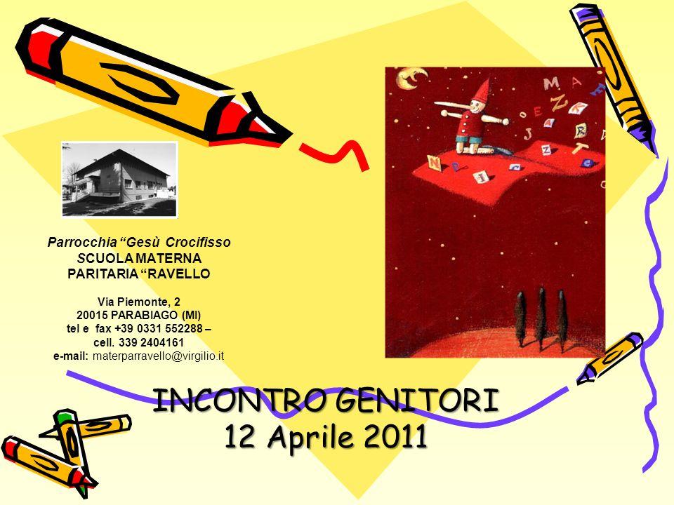 INCONTRO GENITORI 12 Aprile 2011