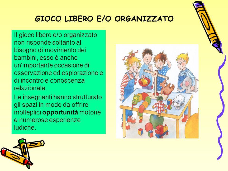 GIOCO LIBERO E/O ORGANIZZATO