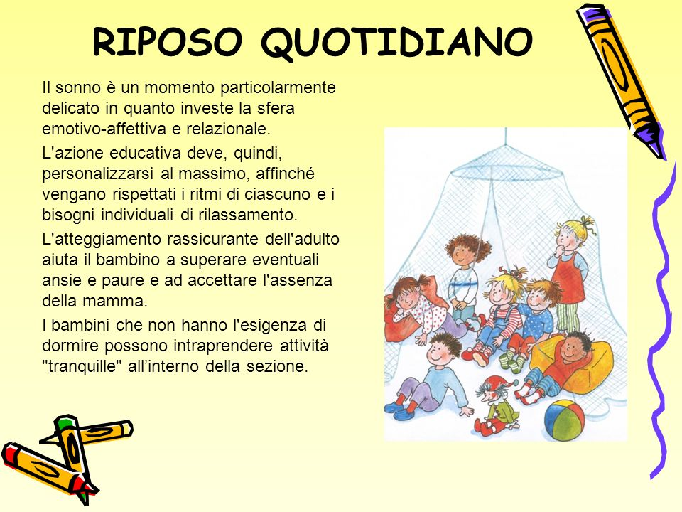 RIPOSO QUOTIDIANO