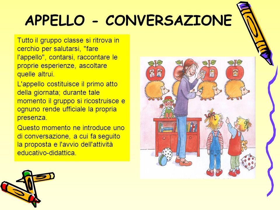 APPELLO - CONVERSAZIONE