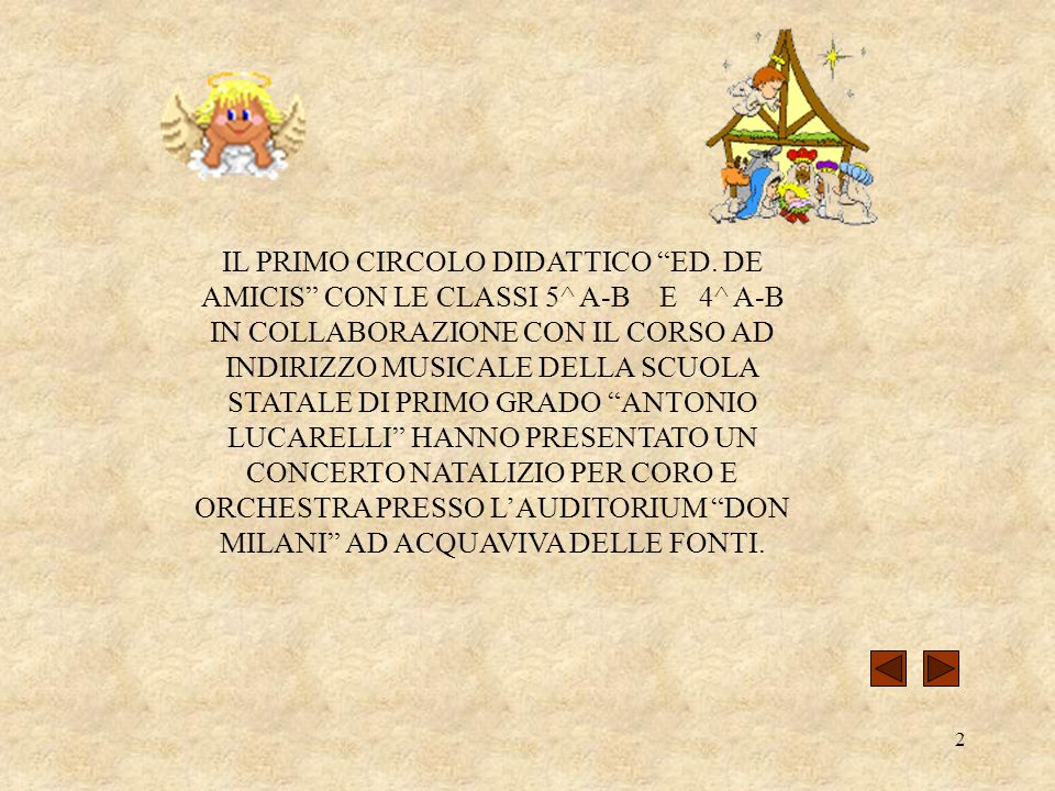 IL PRIMO CIRCOLO DIDATTICO ED