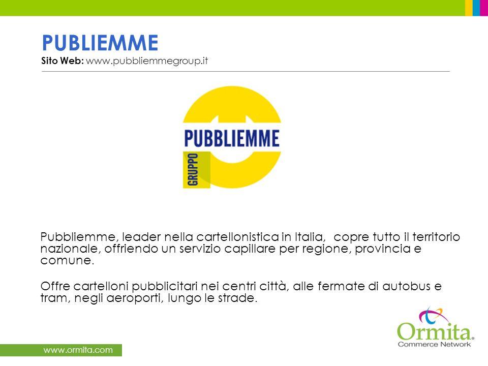 PUBLIEMME Sito Web: www.pubbliemmegroup.it