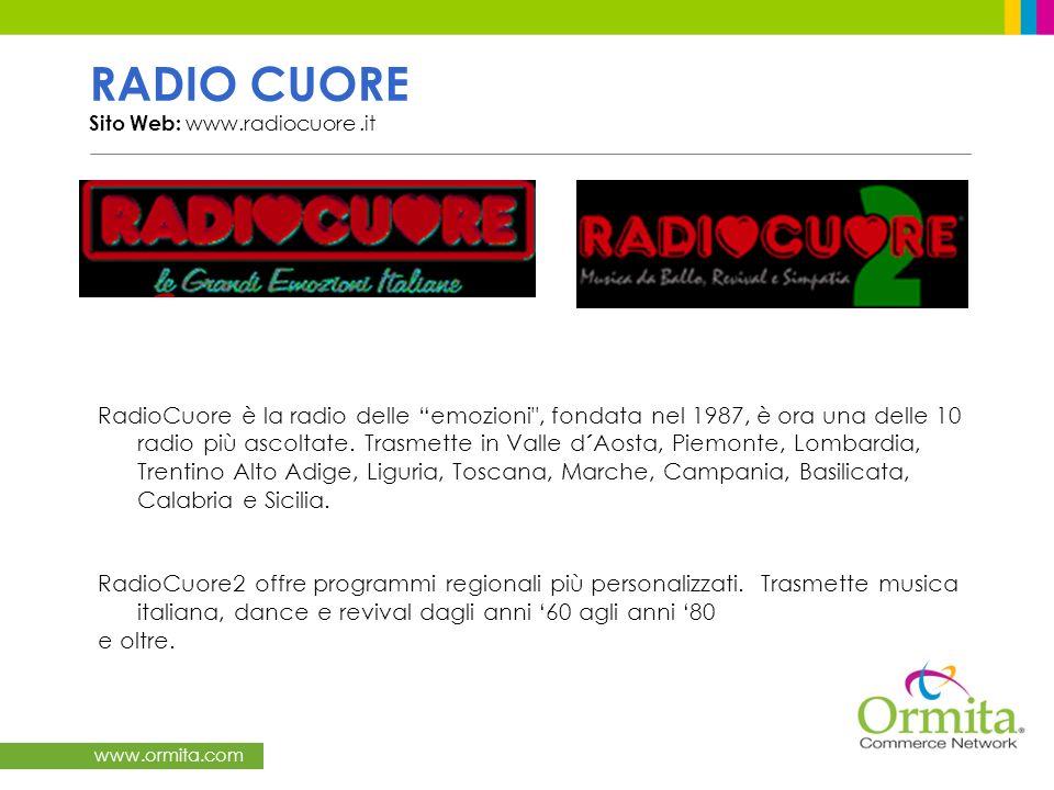 RADIO CUORE Sito Web: www.radiocuore .it