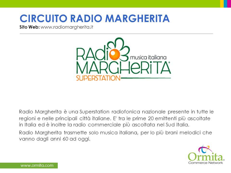 CIRCUITO RADIO MARGHERITA Sito Web: www.radiomargherita.it