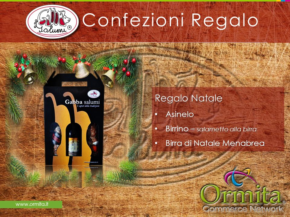 Confezioni Regalo Regalo Natale Asinelo Birrino – salametto alla birra
