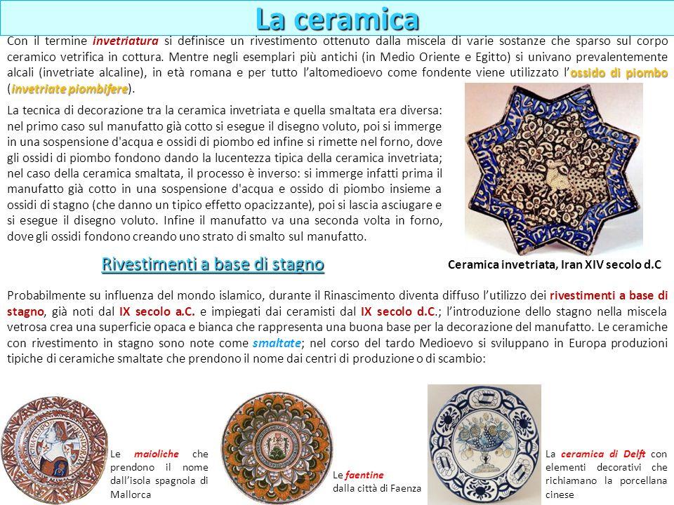 Ceramica invetriata, Iran XIV secolo d.C
