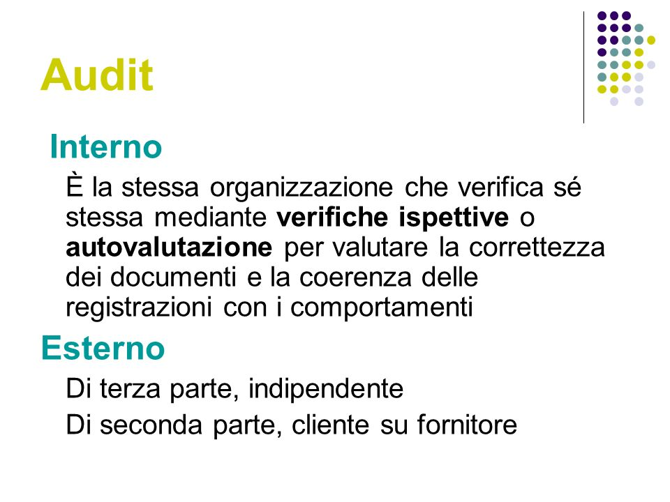 Audit Interno.
