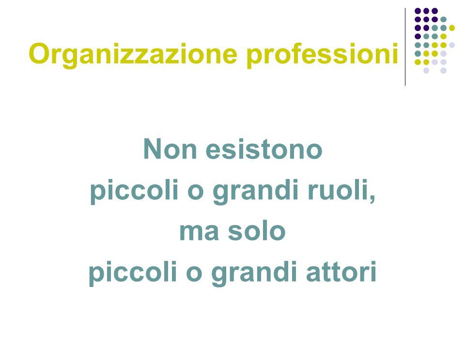 Organizzazione professioni