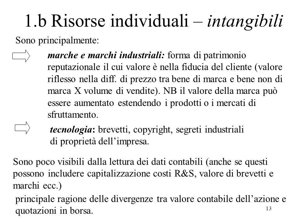1.b Risorse individuali – intangibili