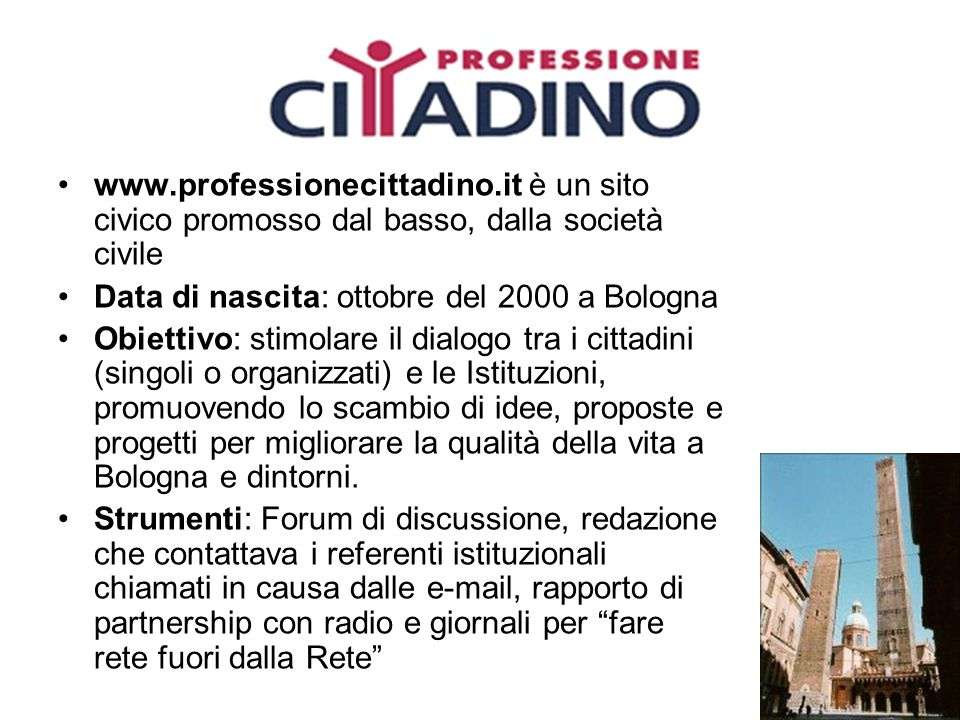 www. professionecittadino