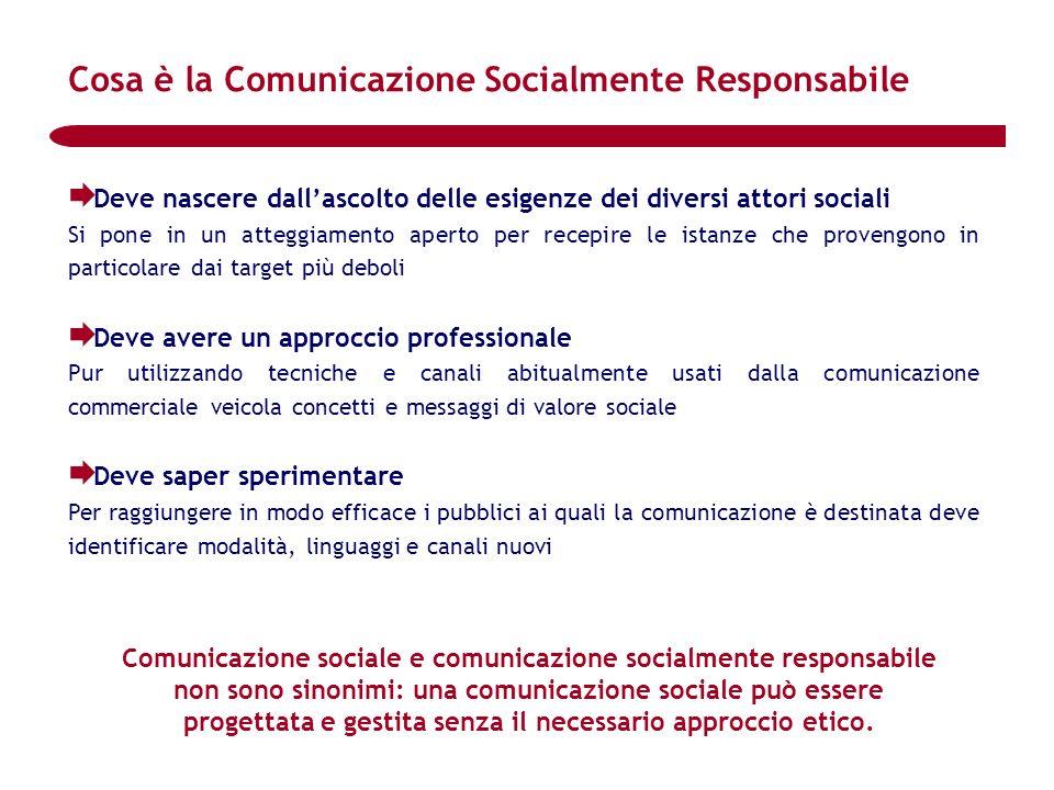 Cosa è la Comunicazione Socialmente Responsabile