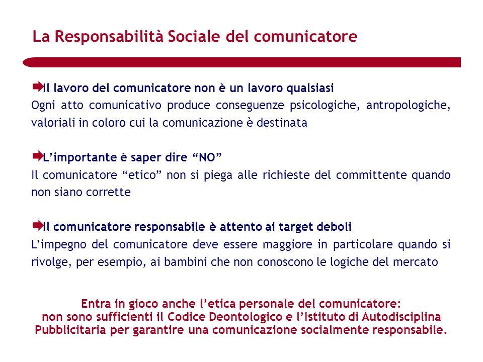 La Responsabilità Sociale del comunicatore