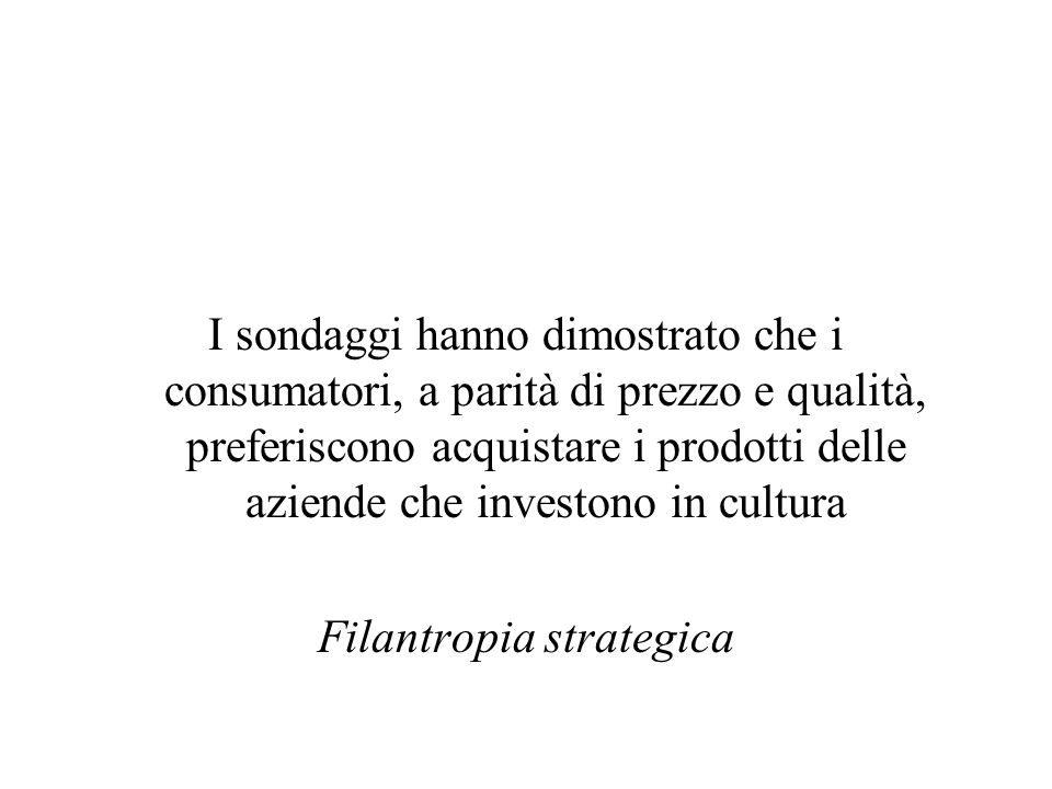 Filantropia strategica