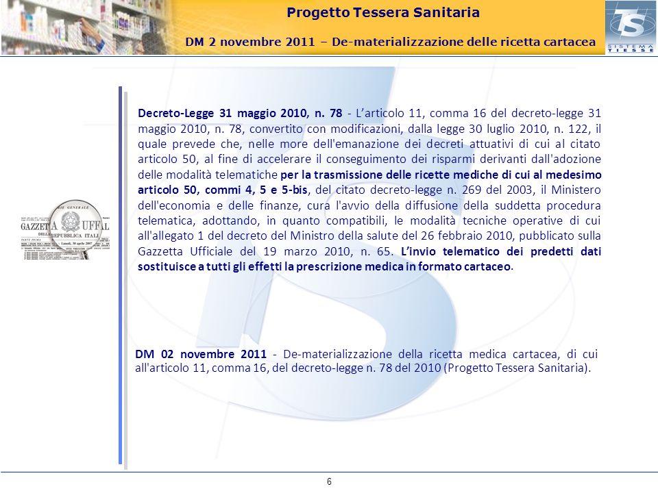 Decreto-Legge 31 maggio 2010, n