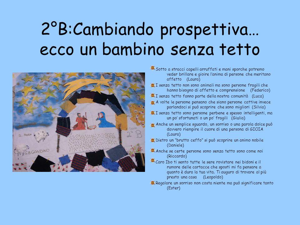 2°B:Cambiando prospettiva… ecco un bambino senza tetto