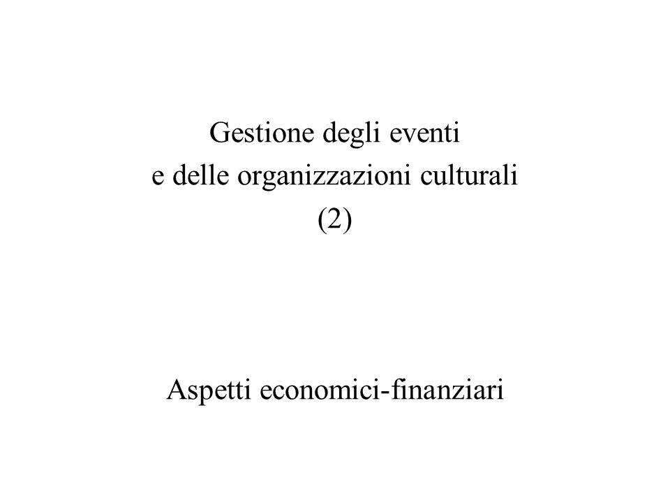 e delle organizzazioni culturali (2)