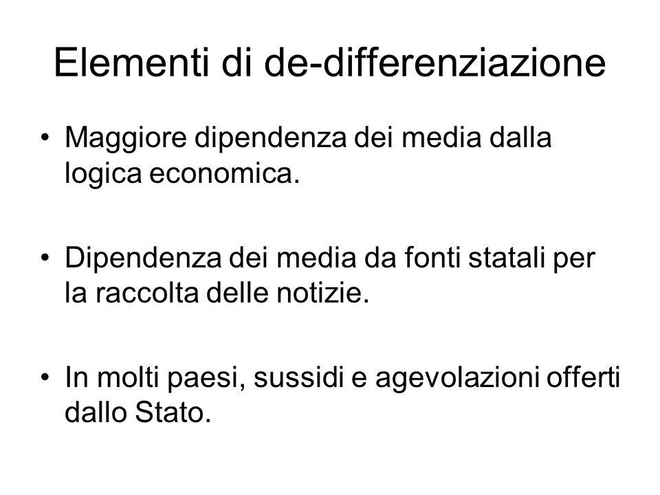 Elementi di de-differenziazione