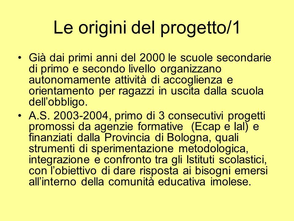Le origini del progetto/1