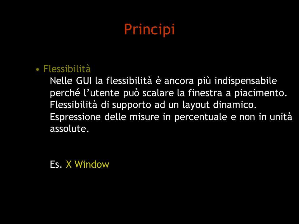 Principi Flessibilità