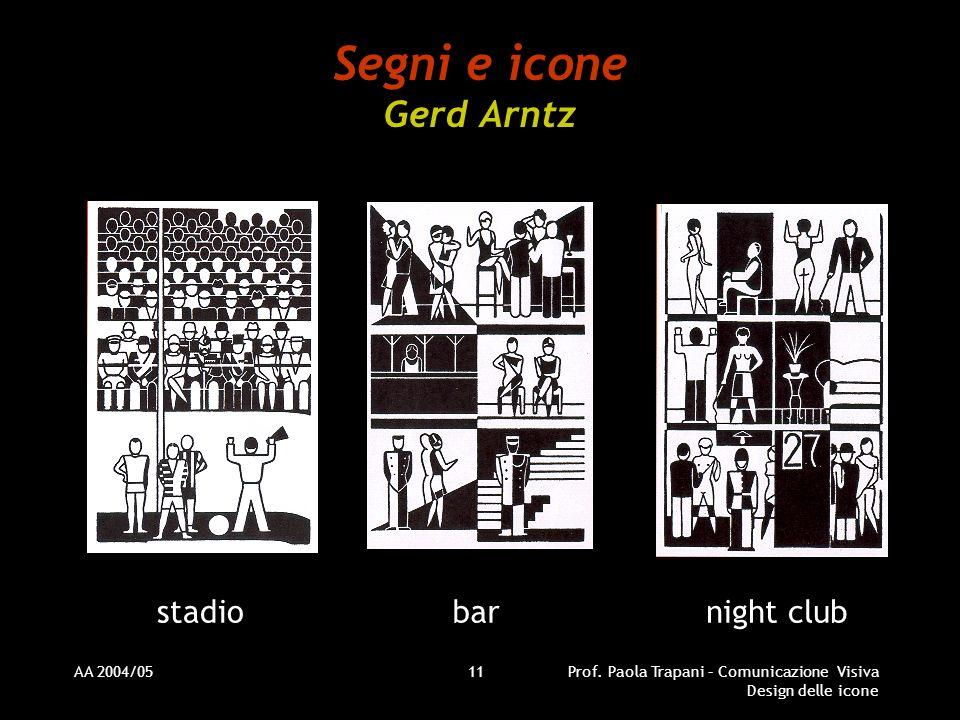 Segni e icone Gerd Arntz