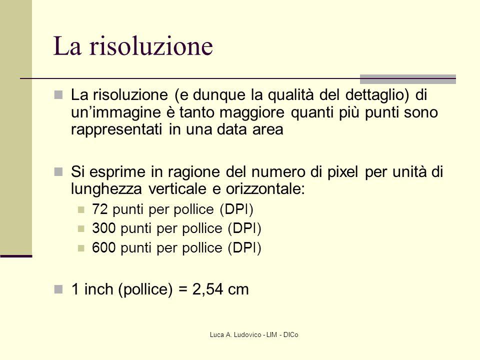 Luca A. Ludovico - LIM - DICo