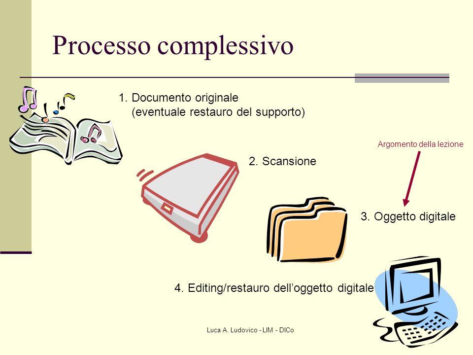 Processo complessivo 1. Documento originale