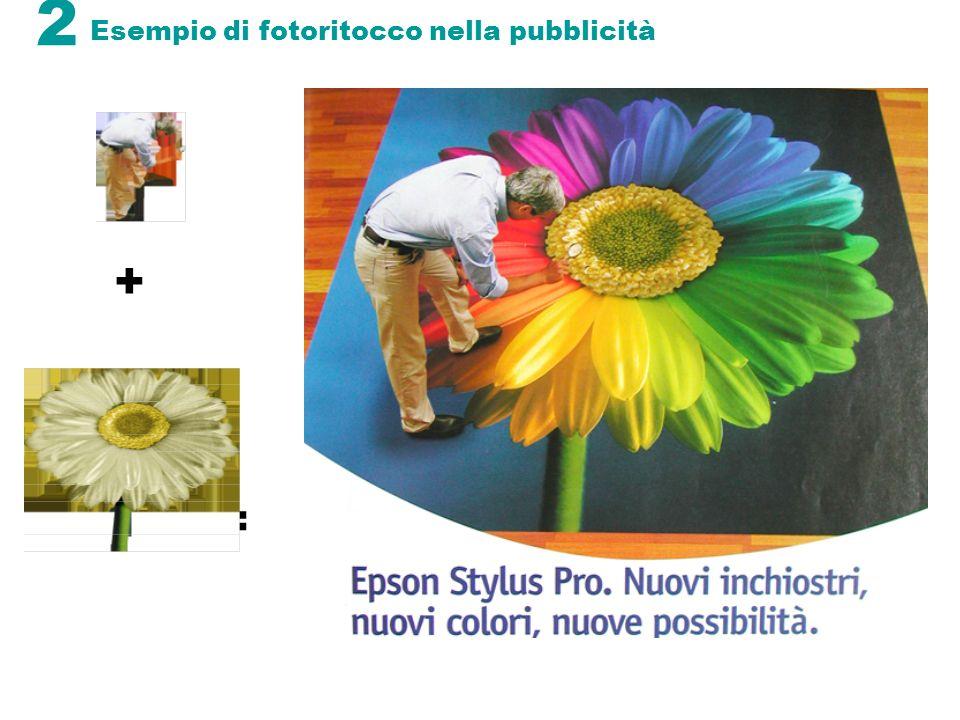 Esempio di fotoritocco nella pubblicità