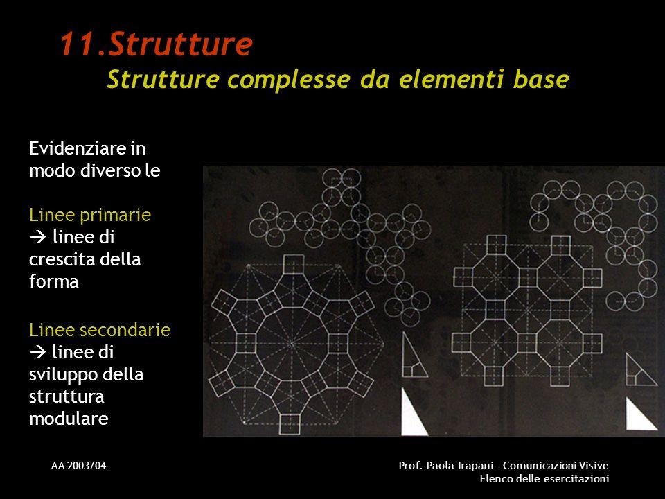 Strutture Strutture complesse da elementi base