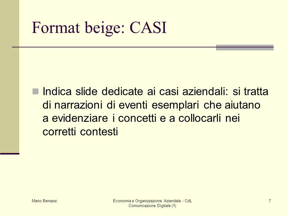 Economia e Organizzazione Aziendale - CdL Comunicazione Digitale (1)