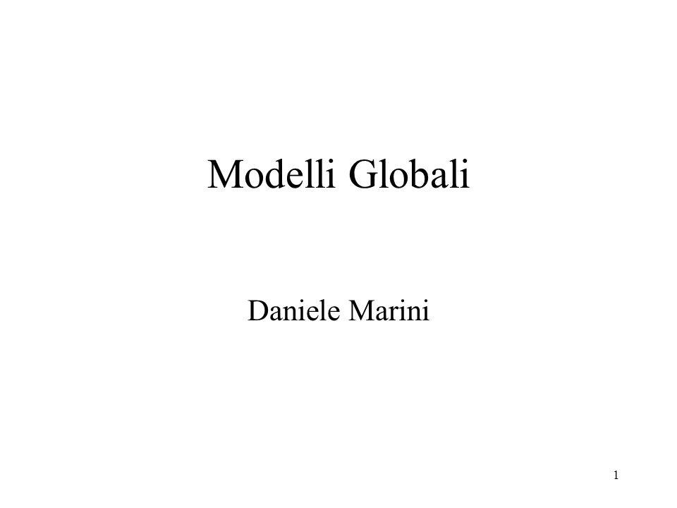 Modelli Globali Daniele Marini