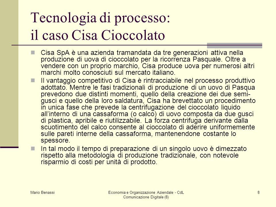 Tecnologia di processo: il caso Cisa Cioccolato