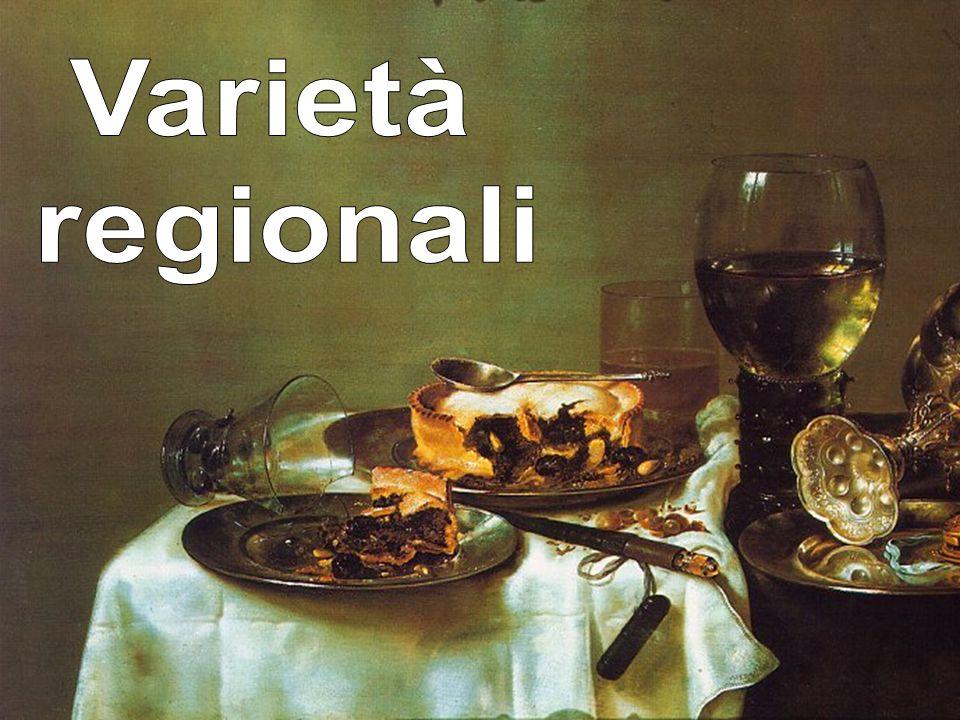 Varietà regionali