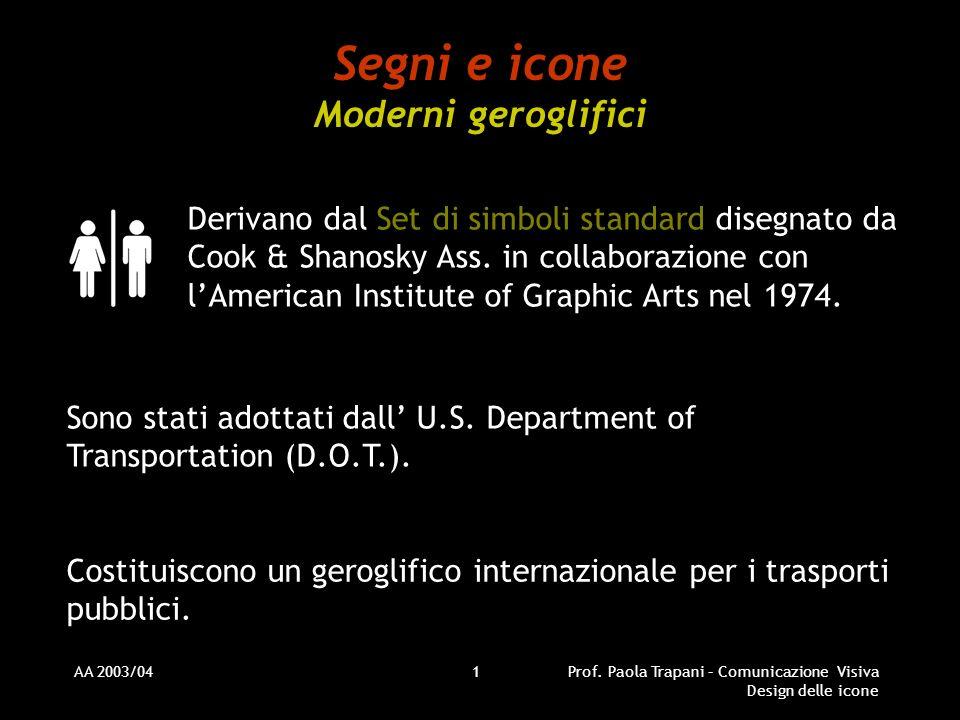 Segni e icone Moderni geroglifici