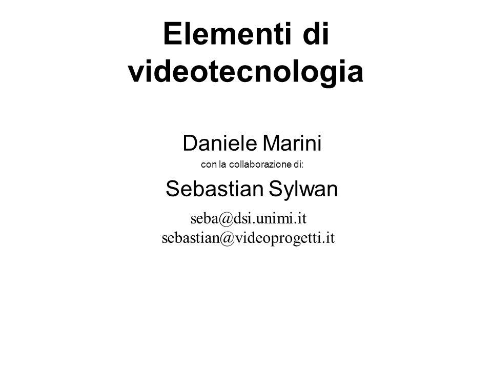 Elementi di videotecnologia