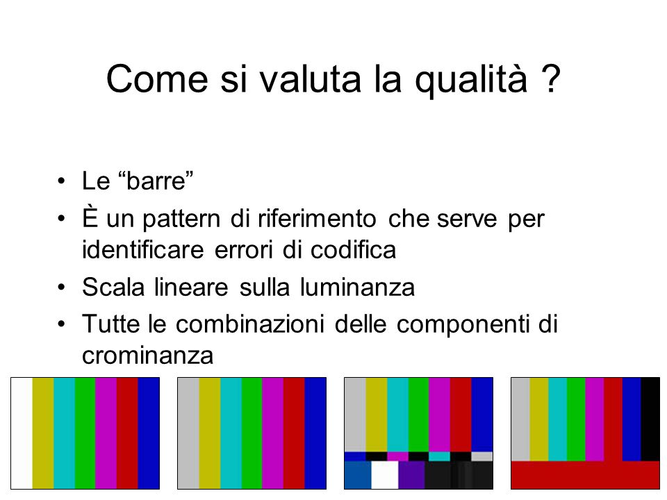 Come si valuta la qualità