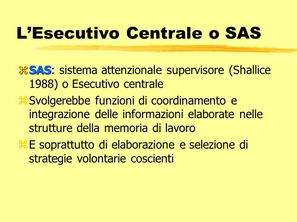 L'Esecutivo Centrale o SAS