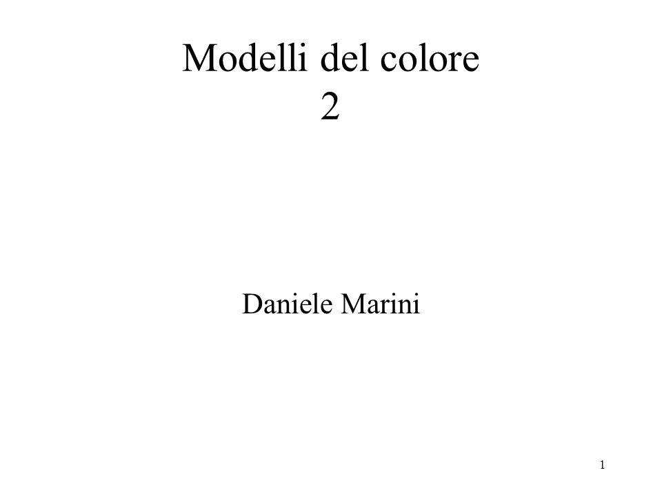 Modelli del colore 2 Daniele Marini