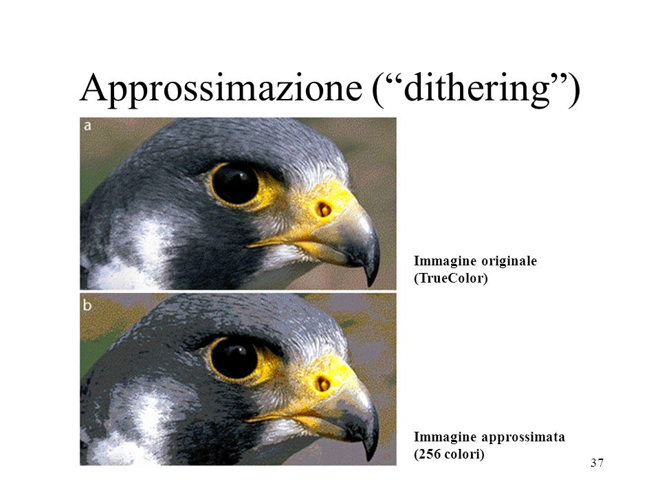 Approssimazione ( dithering )