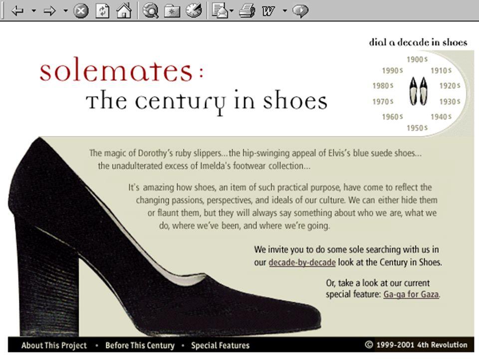 www.centuryinshoes.com ottobre 2001 3.a Lezione