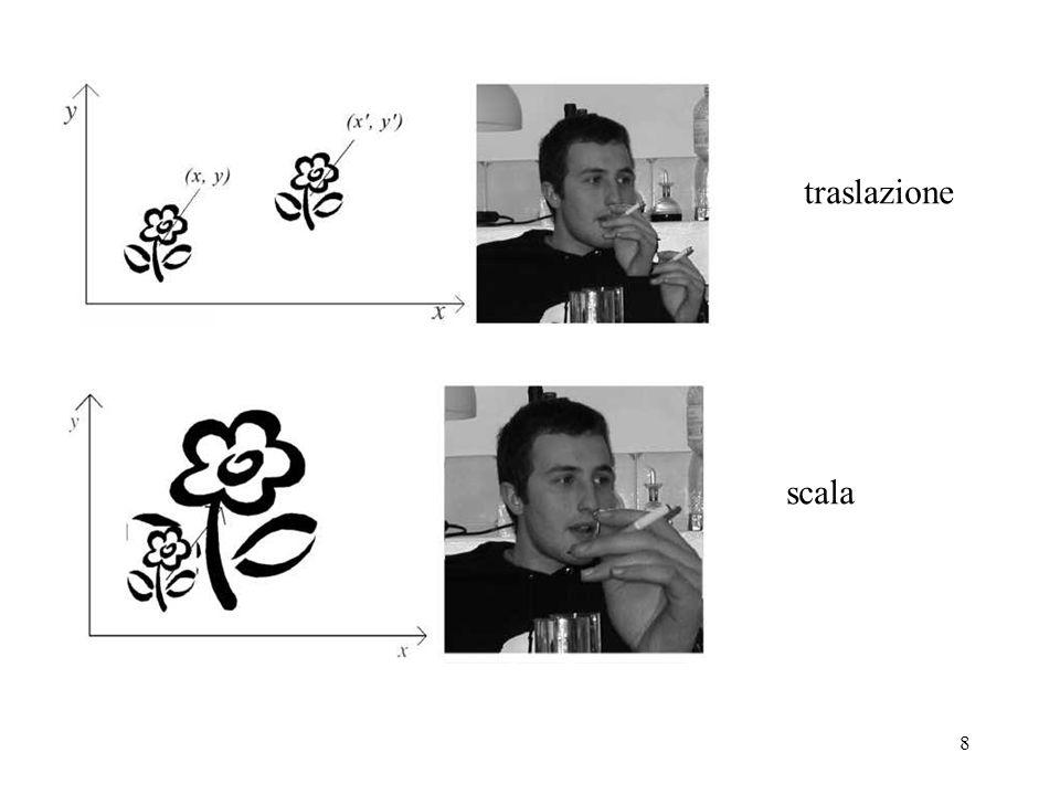 traslazione scala